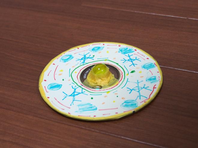 CDで作るコマ