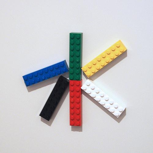 玄関レゴ「水」