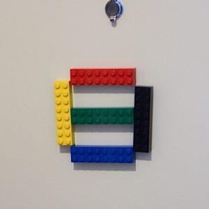 玄関レゴ、日