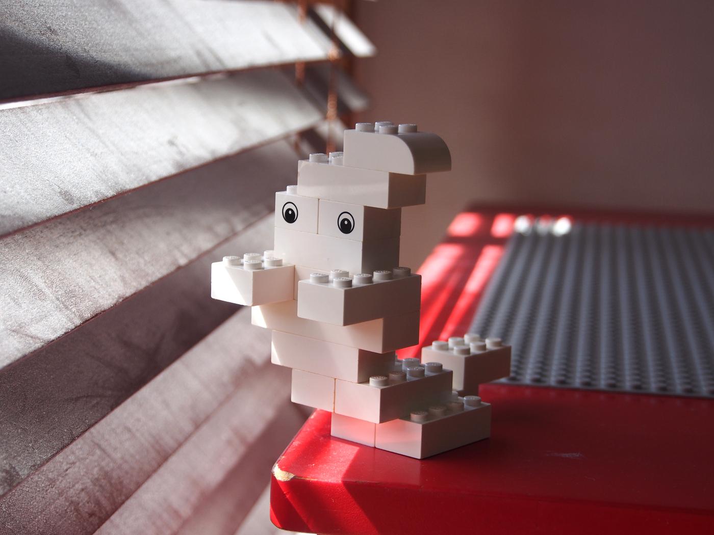 レゴ簡単おばけ