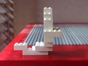 レゴ、ハロウィン、おばけ、横から