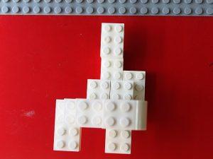 レゴ、ハロウィン、おばけ、上から