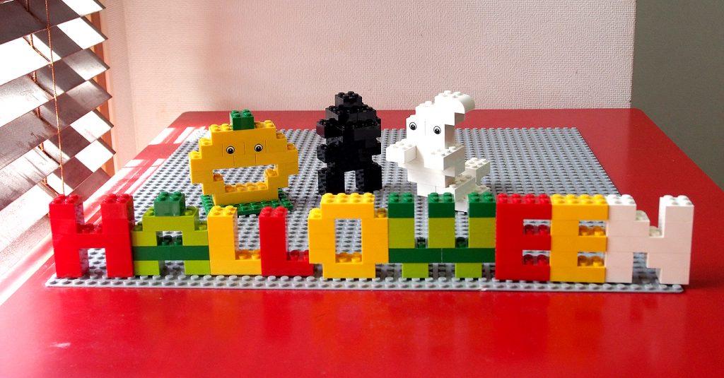 レゴ、アルファベット、HALLOWEEN、正面