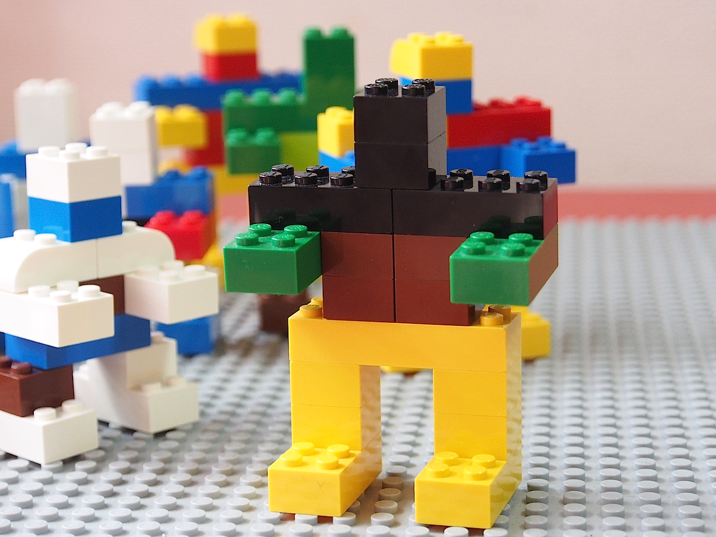 レゴのロボットたち
