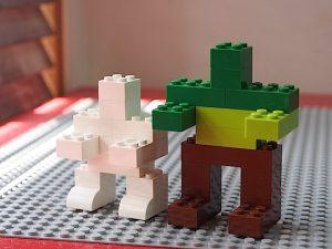 ロボットの大きさ2種類