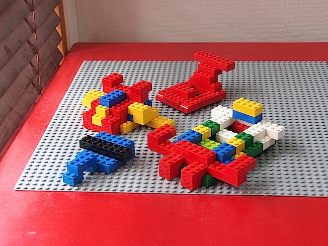 乗り物、レゴ
