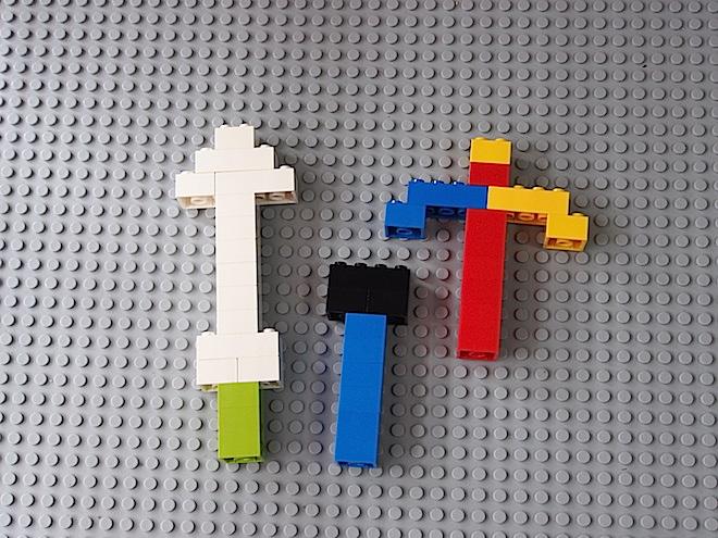 レゴの武器