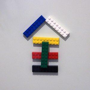 玄関レゴ、全