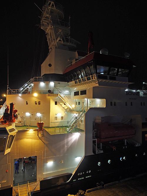 ドイツの調査船、polarstern