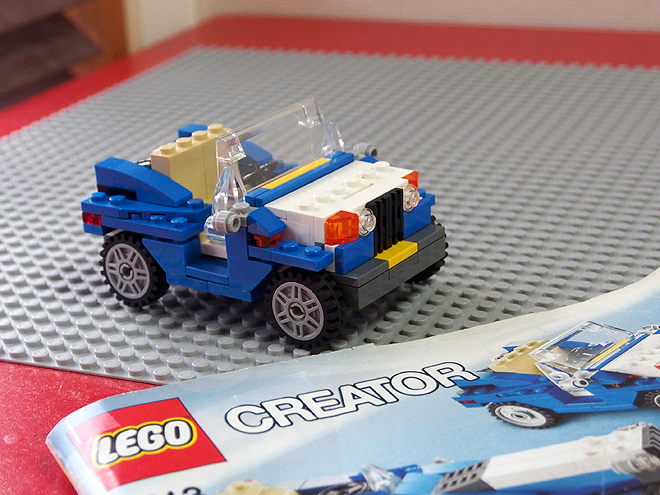 レゴ、3in1、車2