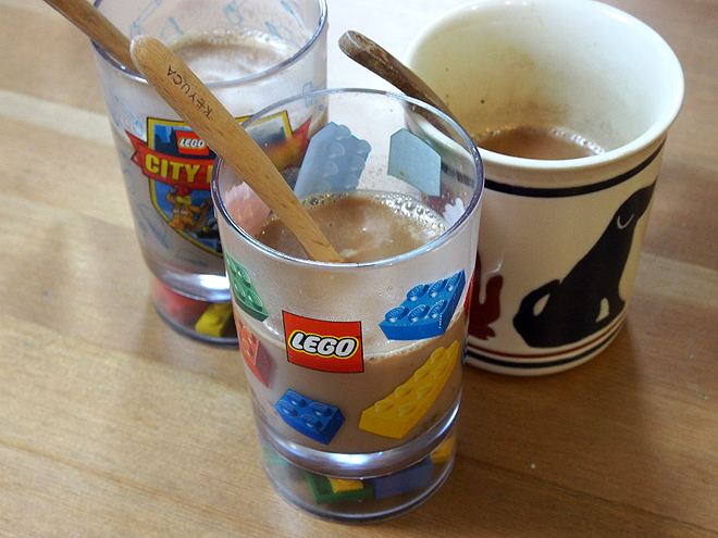 簡単ホットチョコレート2