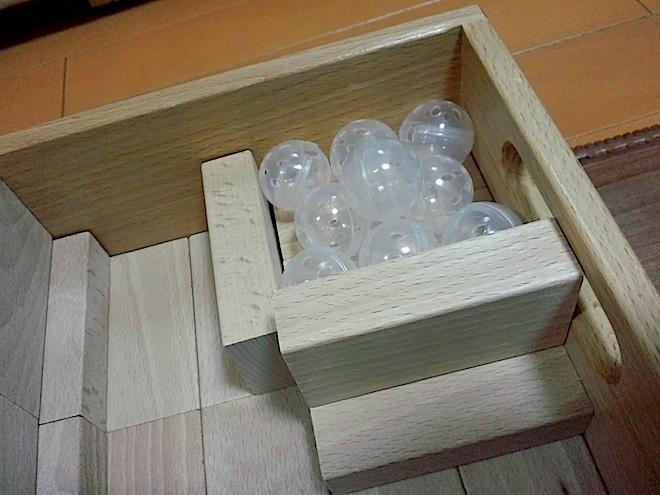 積み木の部屋、お風呂