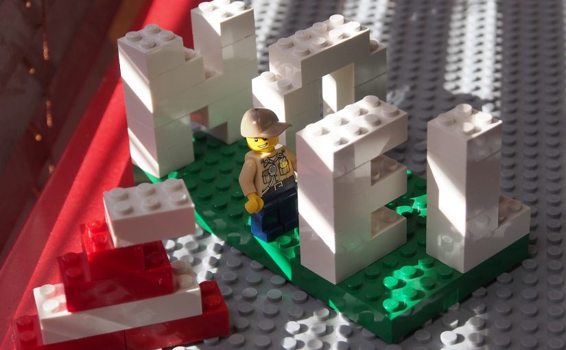 レゴでアルファベット、NOEL