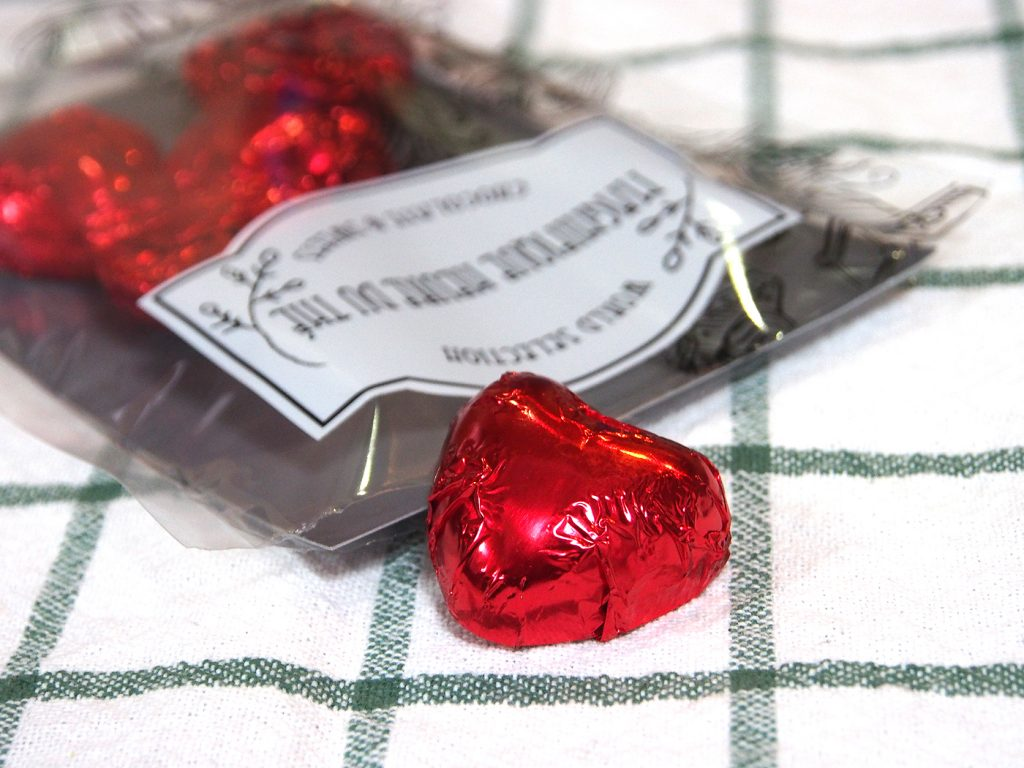 デルコンテ ハートミルクチョコレート