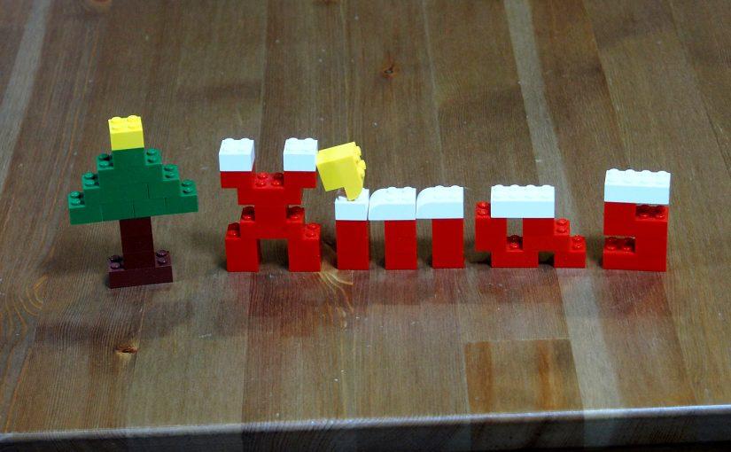 レゴでアルファベット、X'mas2