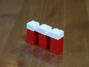 レゴ、アルファベット、m