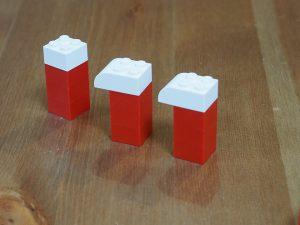 レゴ、アルファベット、mは離れてる