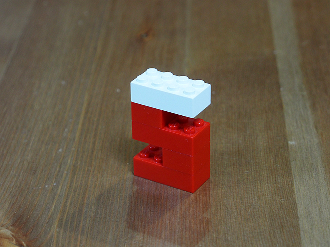 レゴ、アルファベット、s