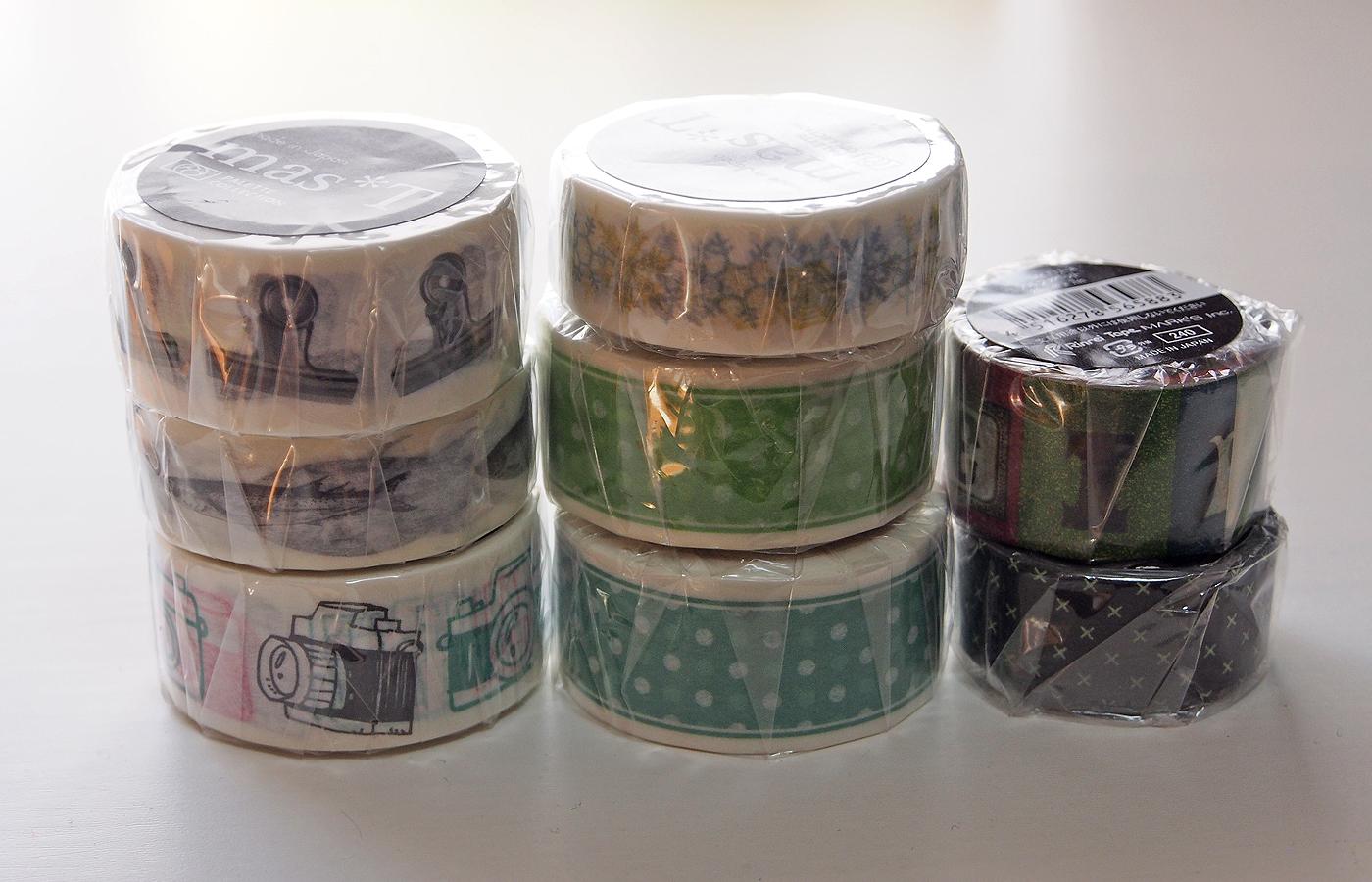マスキングテープ8種
