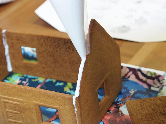 制作過程5、屋根をつける