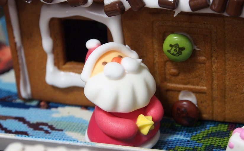 IKEAのお菓子の家(ジンジャーブレッドハウス)をつくった|2016年