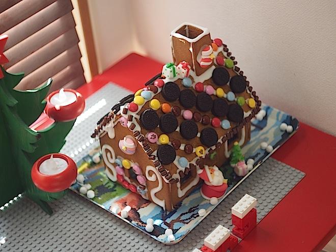 お菓子の家、上から