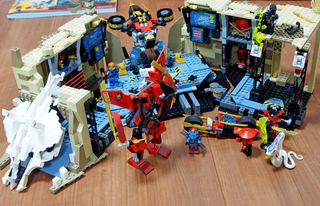 レゴ、洞窟基地ニンジャベース