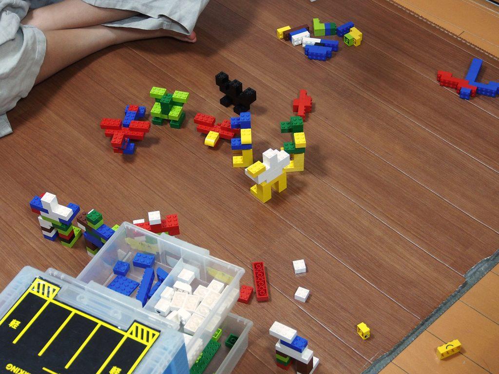 正月のレゴ遊び