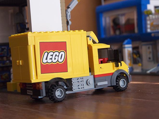 レゴショップ、レゴのトラック