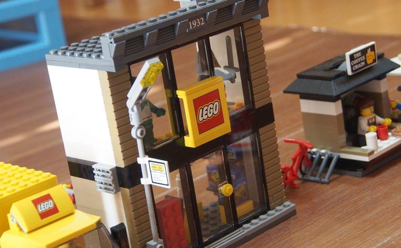 レゴショップもある、[LEGO]CITY レゴシティのまち