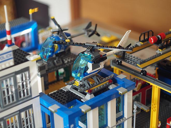 レゴシティ、ポリスステーションのヘリ