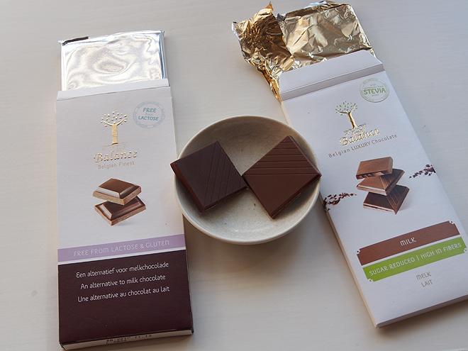 クリングリー、2種類のチョコレート