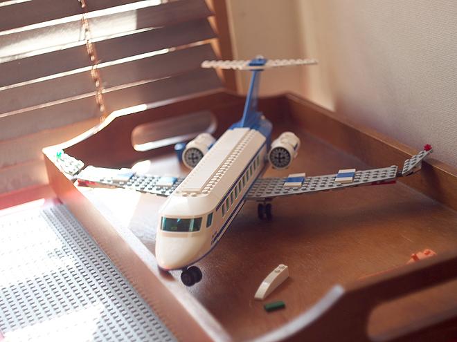 レゴ、飛行機
