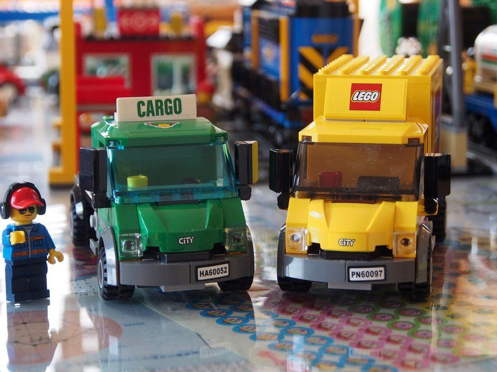 レゴのトラック比較