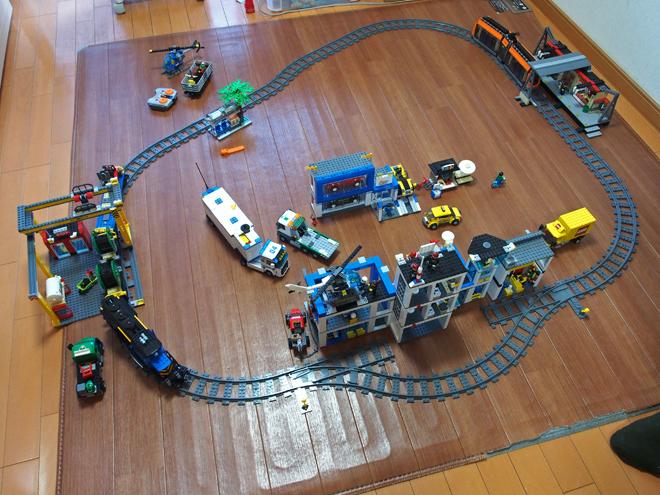レゴの街、上から