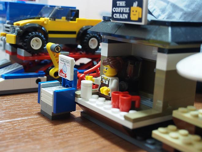 レゴのまち、カフェ