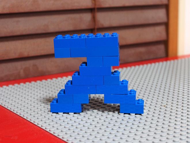 レゴでカタカナ「ス」