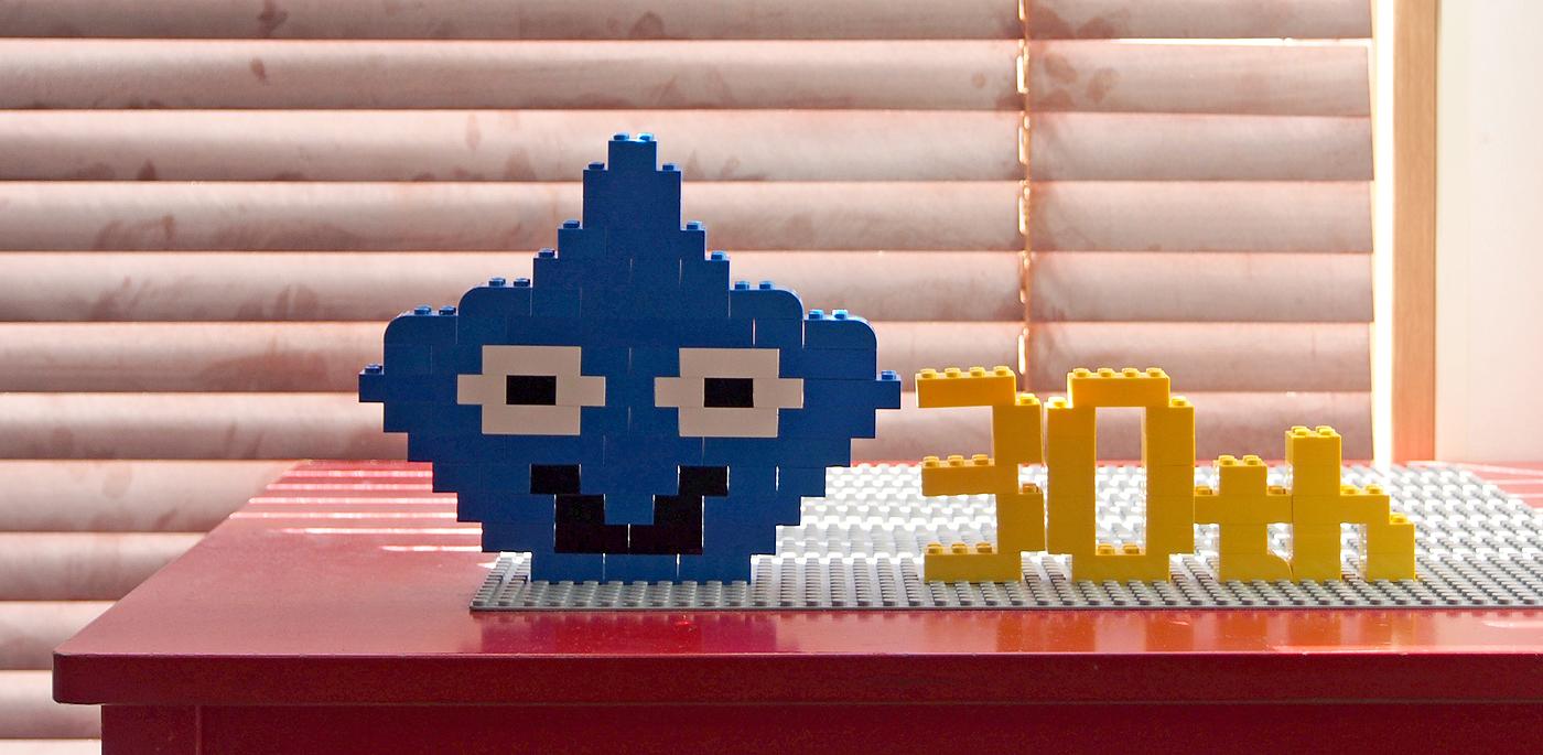 レゴ、スライム、30th