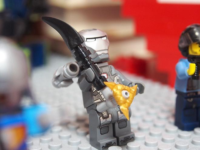 ウォーマシーンとオリジナル武器