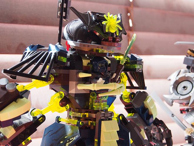 レゴニンジャゴーのロボット