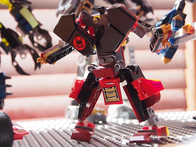 レゴニンジャゴーの基地のロボット