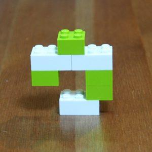レゴ、カタカナ、ウ