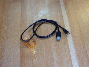 マイクロUSB-USBケーブル