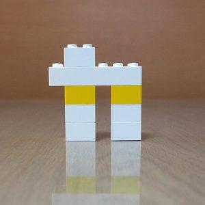 レゴ、カタカナ、カ