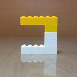 レゴ、カタカナ、コ