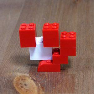 レゴ、カタカナ、ツ