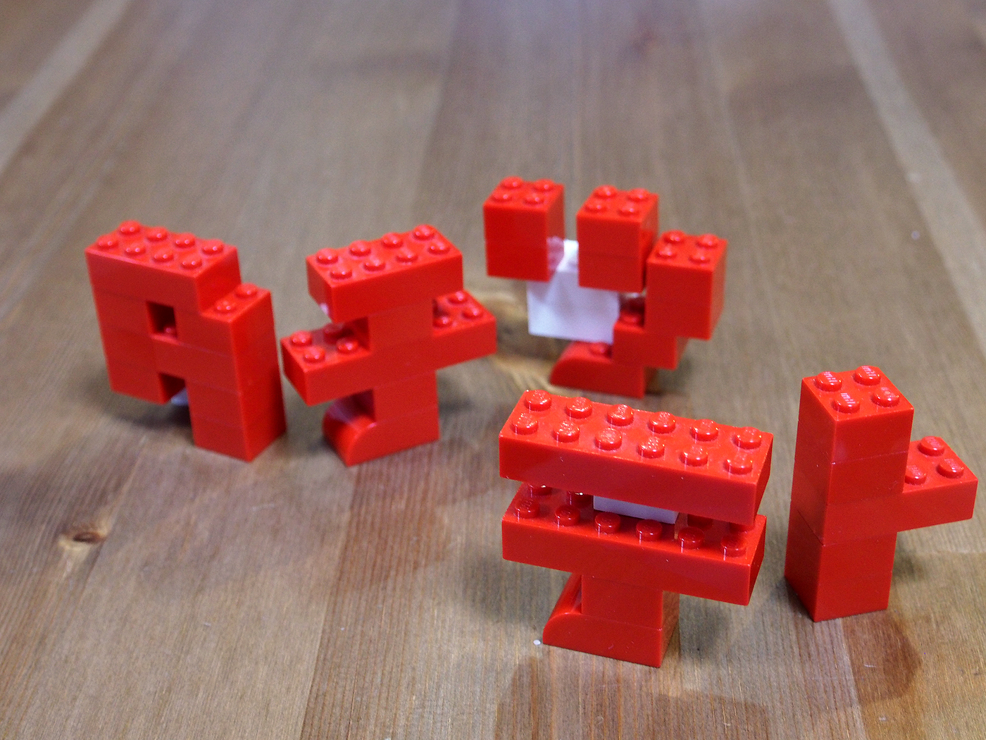 レゴ、タチツテト