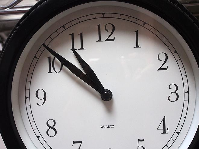 11時10分まえくらい