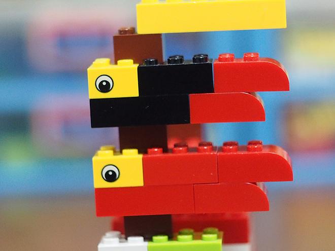 こいのぼり、レゴ、おとな