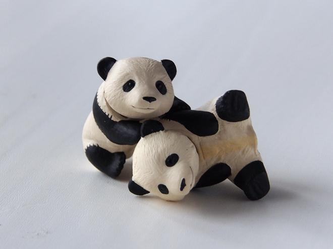 アニア、ジャイアントパンダ子ども、ポーズ1